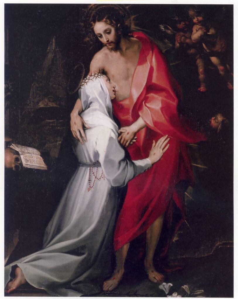 Francesco Vanni, Santa Caterina beve il sangue di Cristo