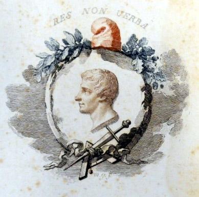 Mauro Gandolfi (Bologna, 1764 - ivi, 1834),emblema repubblicano, incisione.Collezioni d'Arte e di Storia della Fondazione Cassa di Risparmio in Bologna