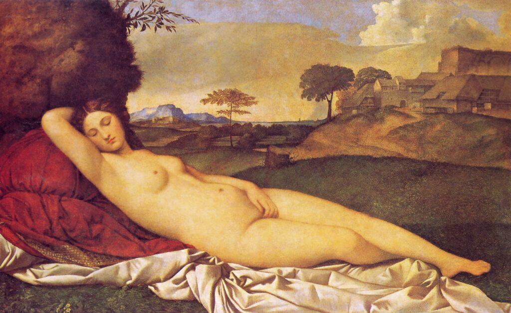 Giorgione, Venere di Dresda