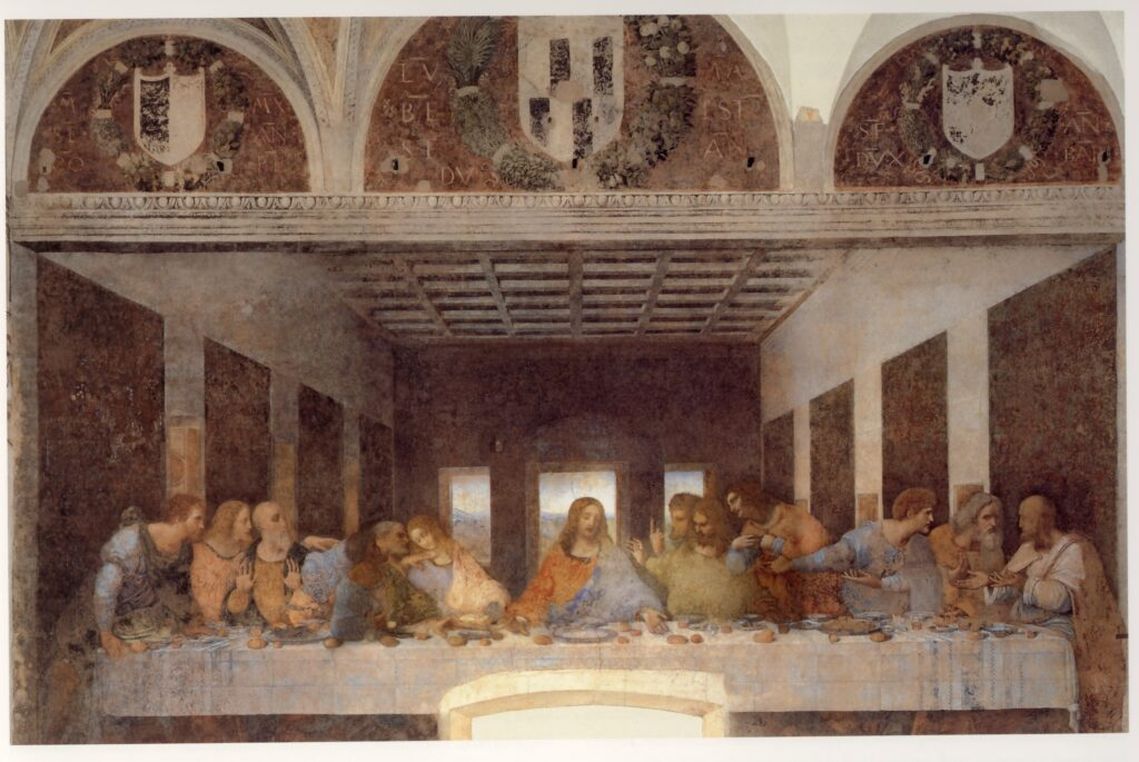 Leonardo da Vinci, Il Cenacolo