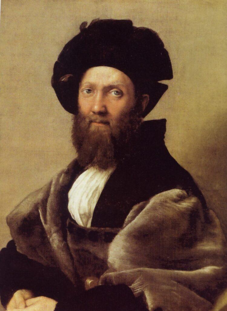 Raffaello, Ritratto di Baldassarre Castiglione