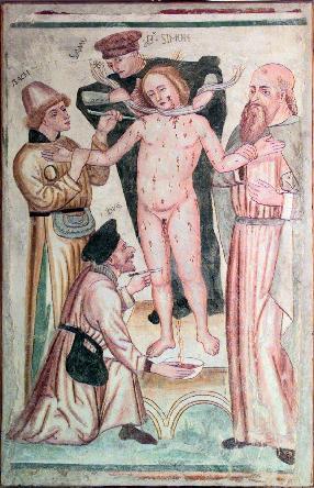 Pittore bresciano-bergamasco, Il Martirio di San Simonino,