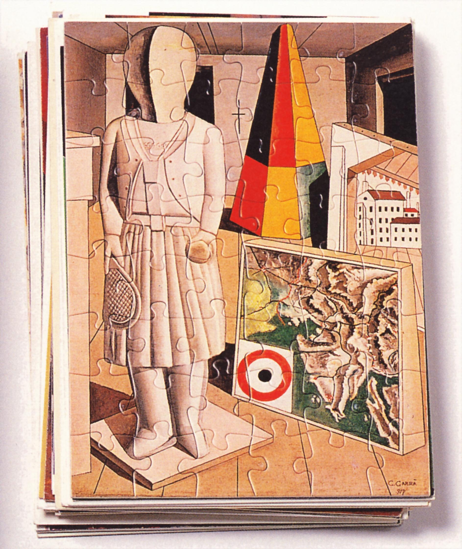 stefano arienti-multiplo-raccolta di cartoline-1990-particolare