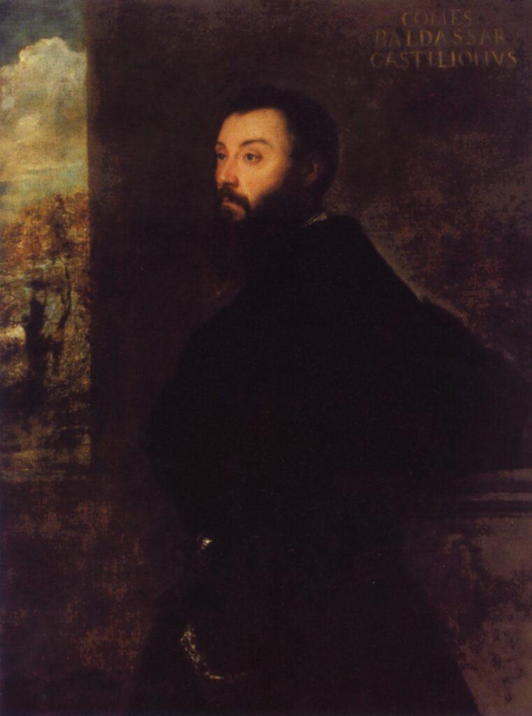 Tiziano, Ritratto di Baldassarre Castiglione