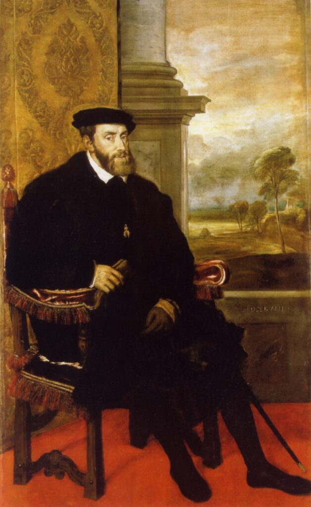Tiziano, Ritratto di Carlo V