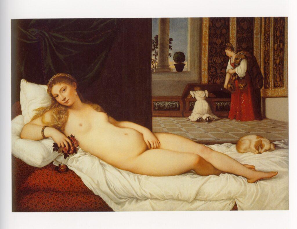Tiziano, Venere diUrbino