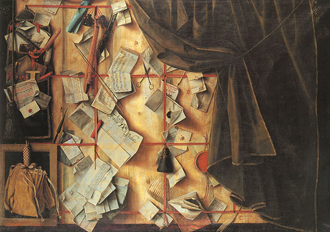 "Cornelis Norbertus Gijsbrechts, ""Trompe-l'œil"""