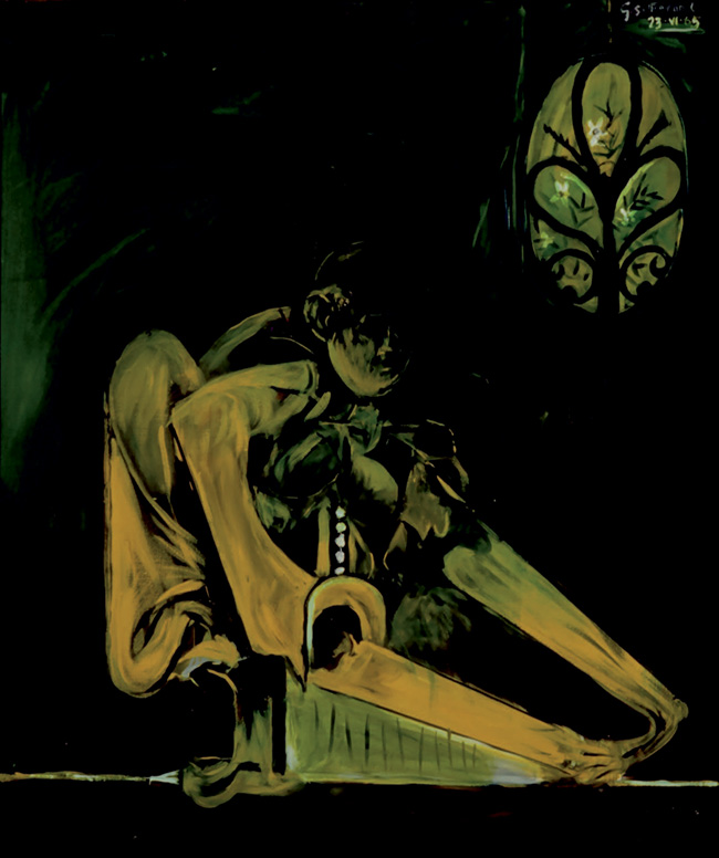 Graham Sutherland, Seated Animal