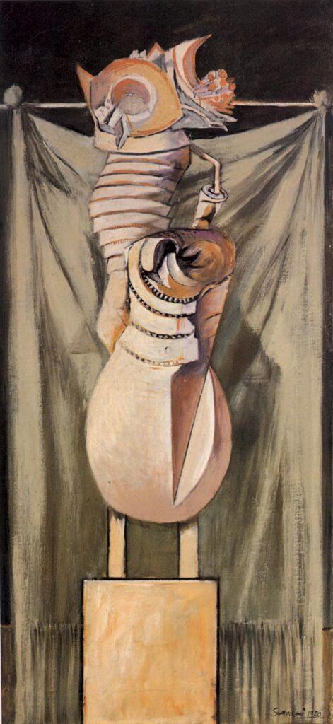 Graham Sutherland, Standing Form, Collezione Barilla d'Arte moderna, Parma