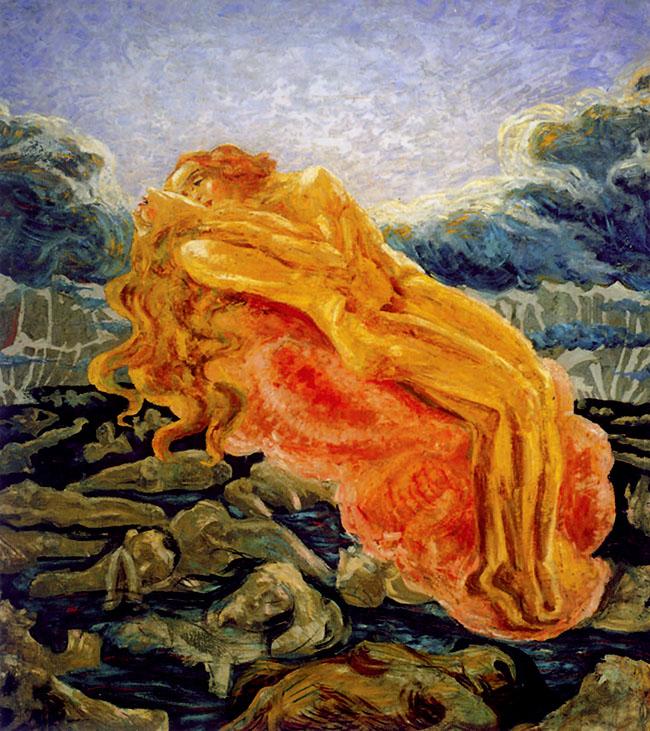 Umberto Boccioni, Paolo e Francesca (1908-9)
