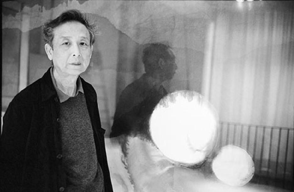 Gao Xingjian in una foto di Martine Franck. © Martine Franck / Magnum Photos