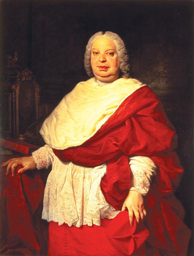 """Pierre Subleyras, """"Ritratto del Cardinale Silvio Valenti Gonzaga"""""""