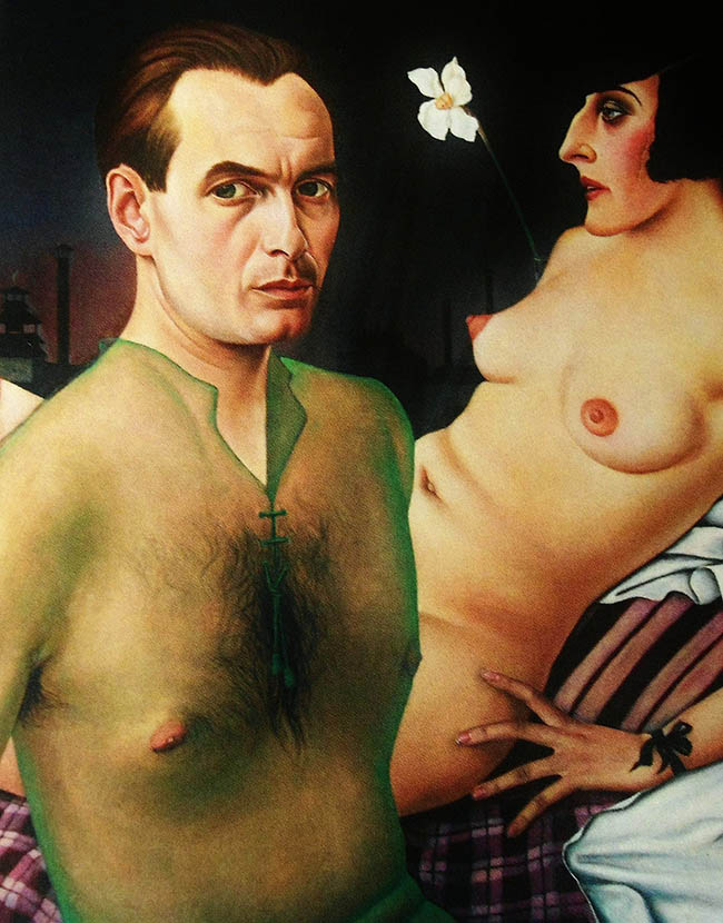 "Christian Schad, ""Autoritratto"", 1927"