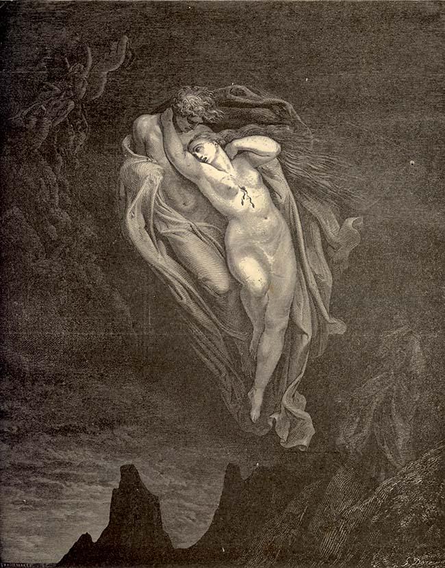 Dorè, Paolo e Francesca