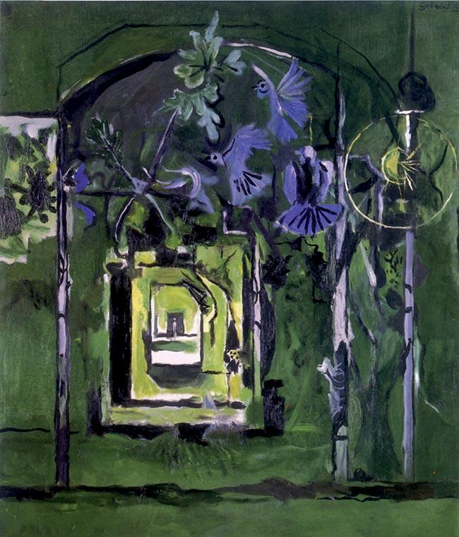 Graham Sutherland, Path in Wood n. 3
