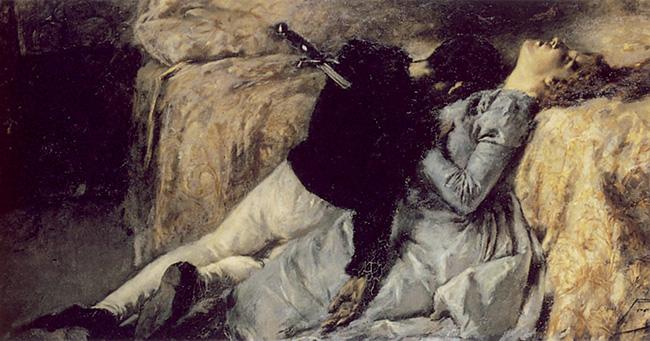 Paolo e Francesca, del 1887