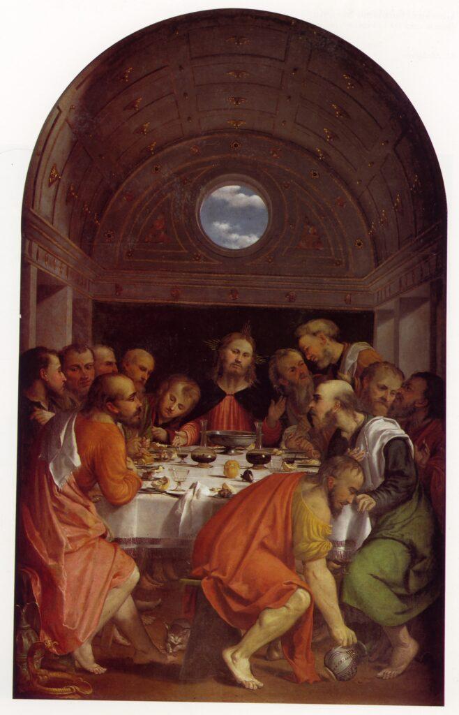 Girolamo Romanino, Ultima Cena, Montichiari, Santa Maria Assunta