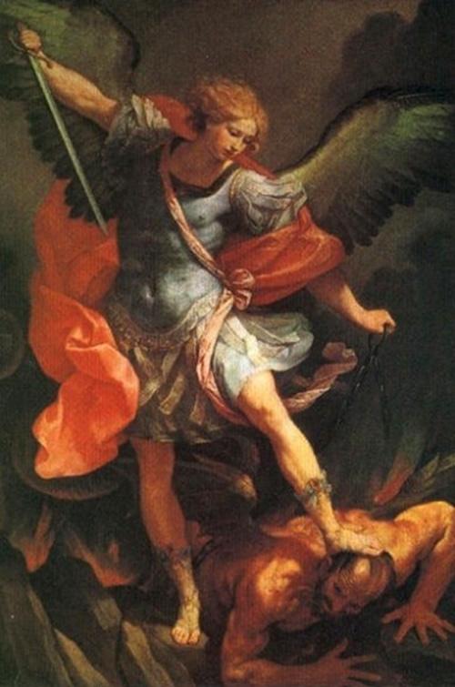 """Guido Reni, """"San Michele Arcangelo che schiaccia il diavolo"""""""