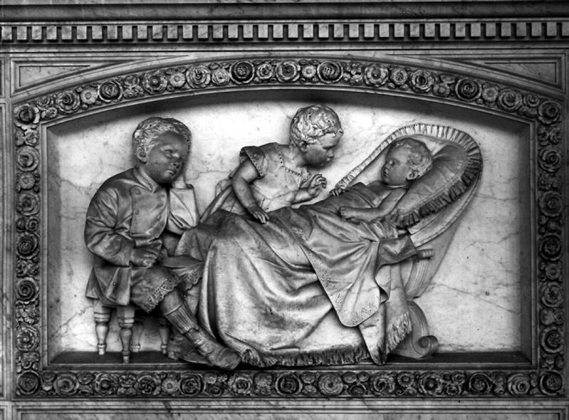 Augusto Rivalta, monumento di Achille Minghetti, 1872. Foto Poppi - Fotografia dell'Emilia Romagna