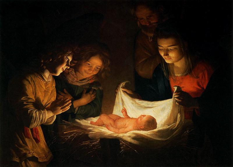 Gherardo delle Notti, Natività ( 1592 - 1656)