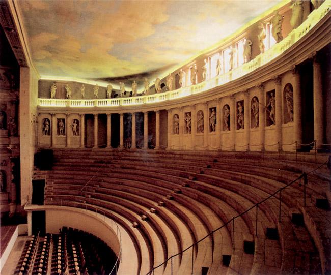 Andrea Palladio, Teatro Olimpico di Vicenza, cavea