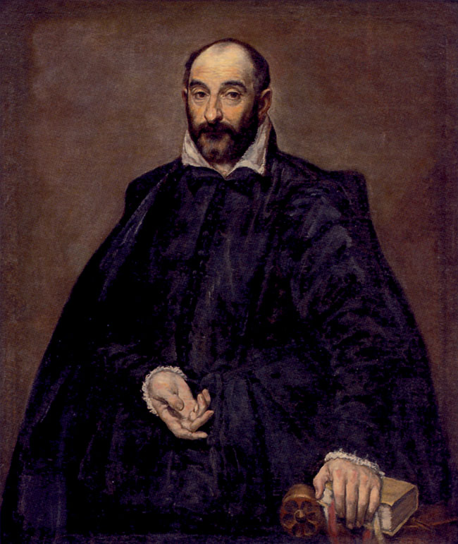 El Greco, Ritratto di Andrea Palladio