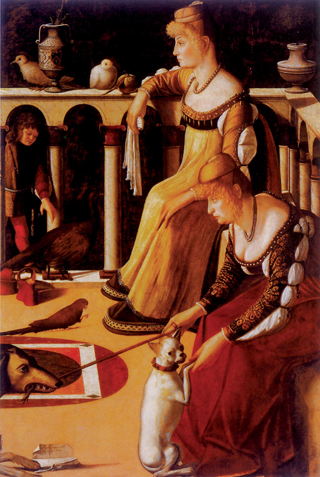 Vittore Carpaccio, Due dame