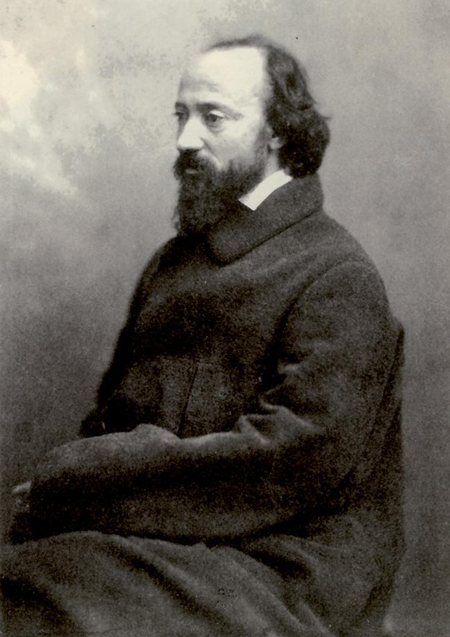 Daubigny immortalato dal celebre fotografo