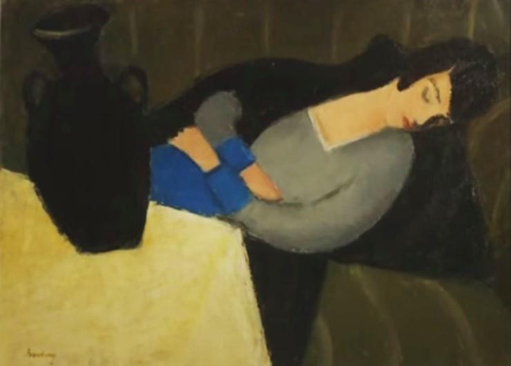 L'opera del pittore ungherese che era stata utilizzata come elemento d'arredamento del salotto di Stuart Little