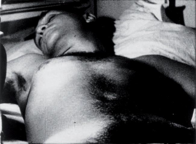 Andy Warhol, frame da Sleep