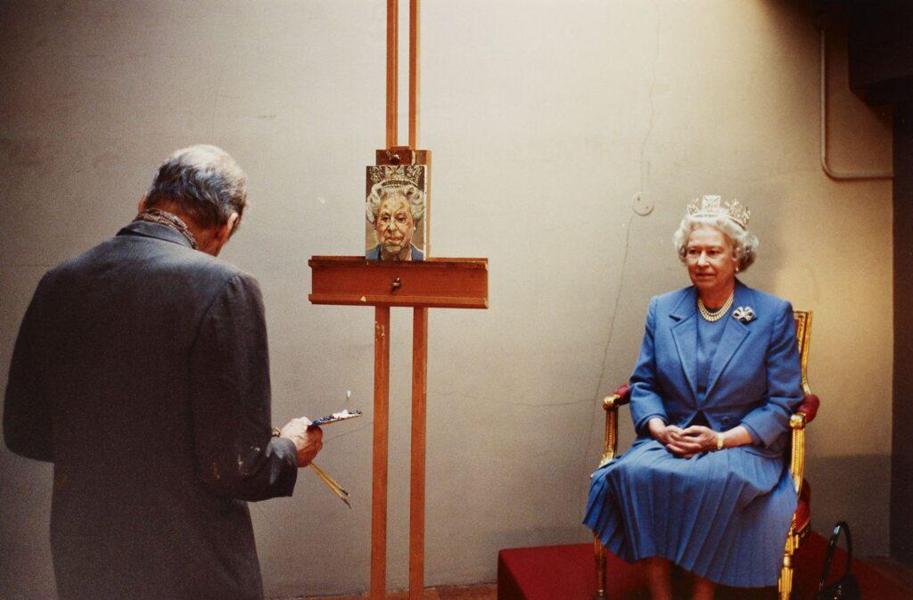 Lucian Freud ritrae la Regina d'Inghilterra