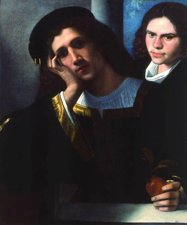 Giorgione, Doppio ritratto