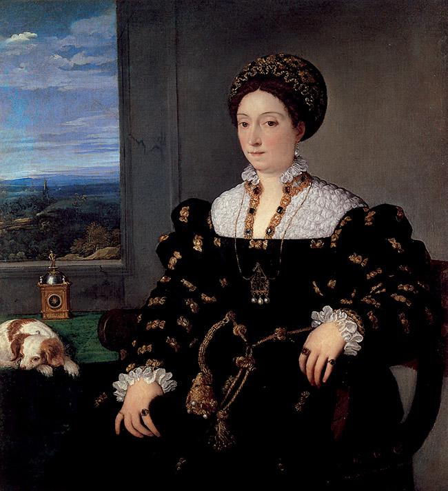 Tiziano, Ritratto di Eleonora Gonzaga della Rovere