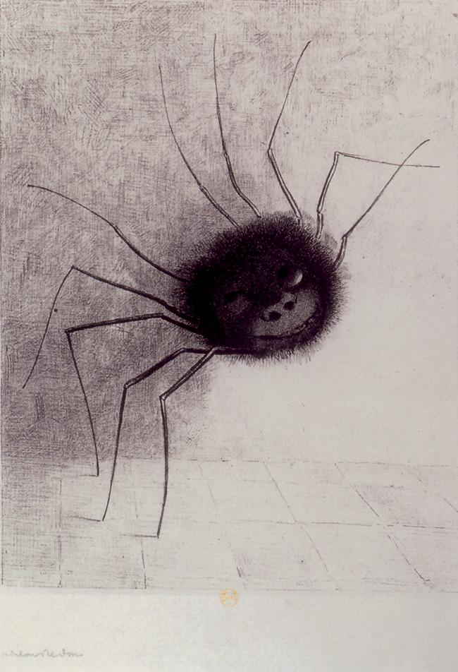 Odilon Redon, Il ragno che sorride