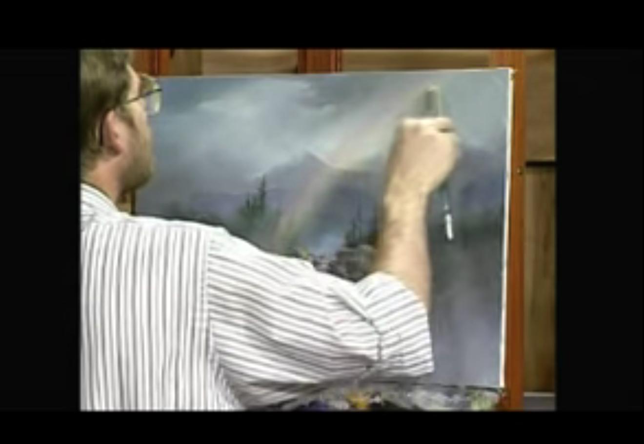 Pittura Vetrificata Per Cucina dipingere o disegnare l'arcobaleno - video tutorial e