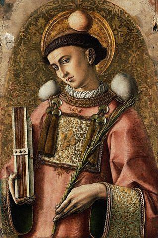 Carlo Crivelli, Santo Stefano Martire, 1476