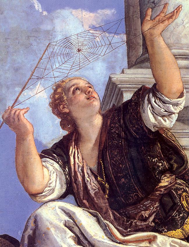 Paolo Veronese, La Dialettica (particolare)