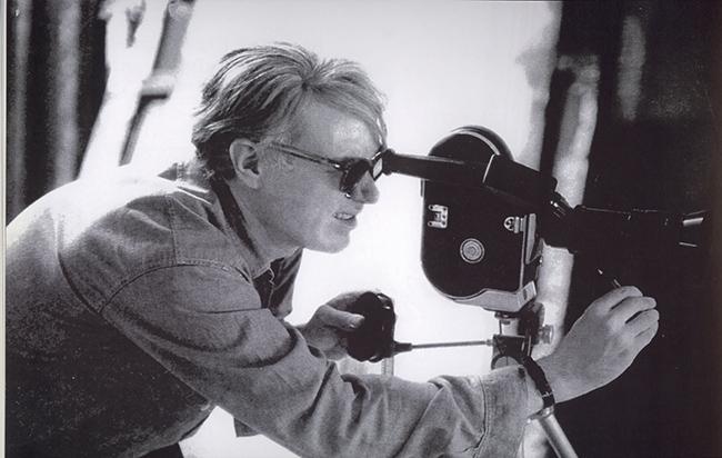 Andy Warhol dietro la cinepresa