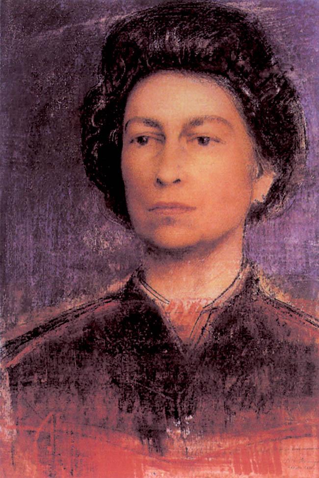 Pietro Annigoni, Ritratto di Elisabetta II