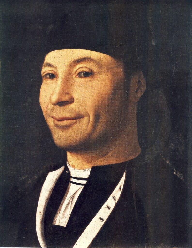 ANTONELLO DA MESSINA, Ritratto virile o Ritratto di ignoto marinaio, 1465-72, olio su tavola, 30,5 x 26,3 cm, Cefalù, Fondazione Culturale Mandralisca