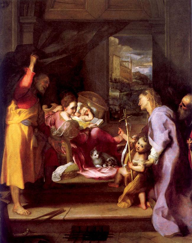 Federico Barocci, Madonna della gatta