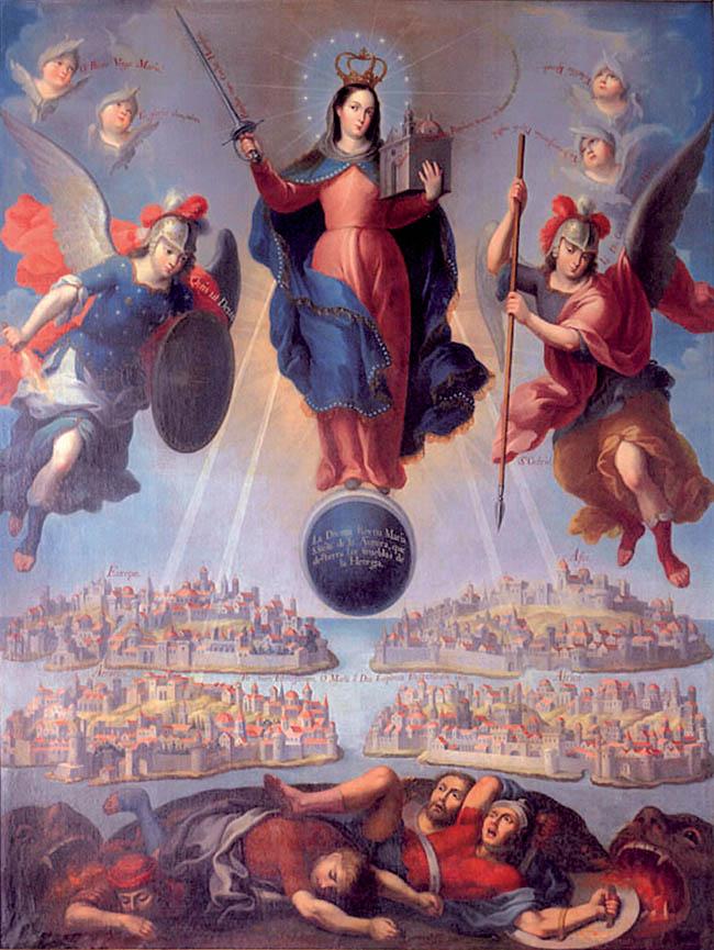 Andrés López, Maria Santissima dell'Aurora