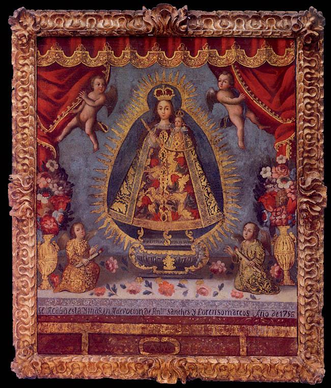 Anonimo della Scuola di Cusco, Madonna dei Rimedi
