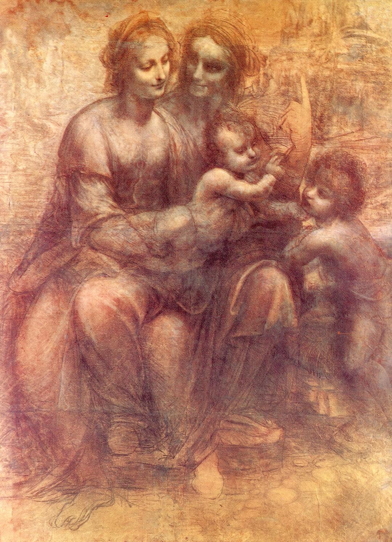 Picasso trasforma la moglie in madonna pensando a leonardo