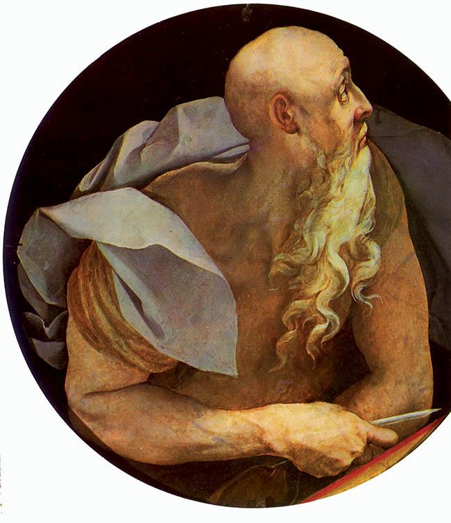 Pontormo,  San Giovanni  evangelista