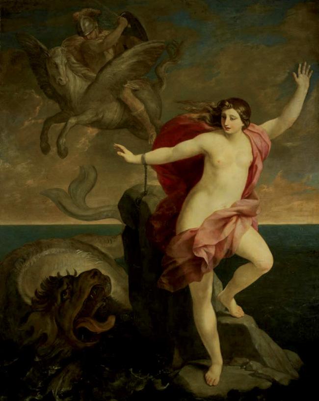 Guido Reni, Perseo salva Andromeda dal mostro marino. Del quadro parla Herman Melville nel suo immortale romanzo