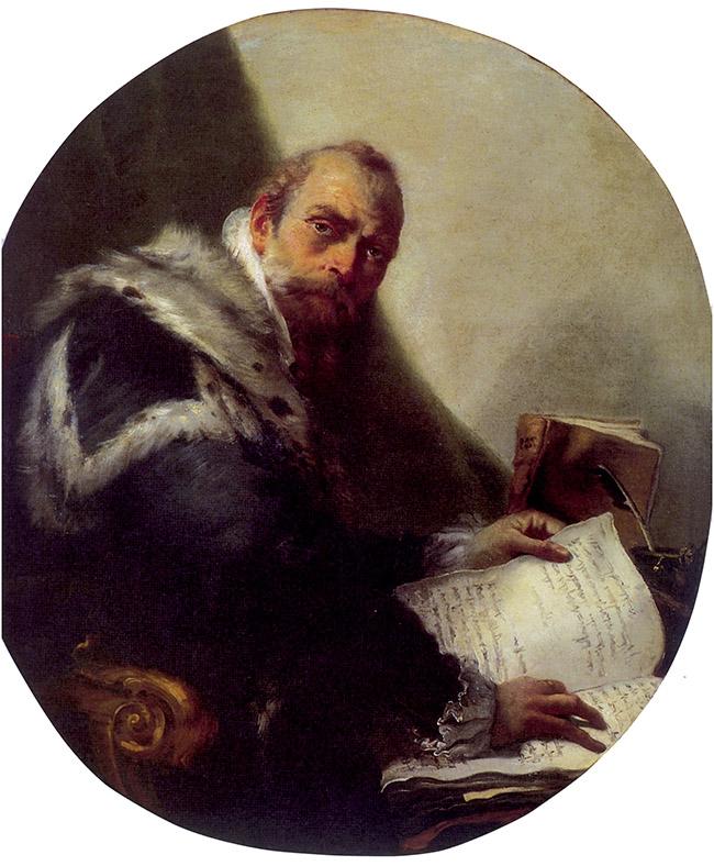 Giambattista Tiepolo, Ritratto di Antonio Riccobono