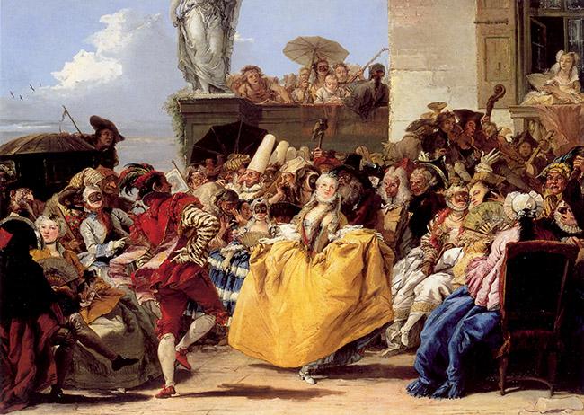 Giandomenico Tiepolo, Il minuetto