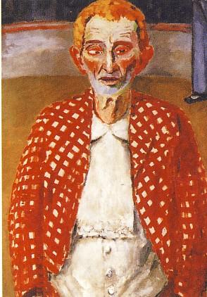 KEES VAN DONGEN, Il vecchio pagliaccio, 1906, olio su tela, 130 x 97 cm, Ginevra, Musée de Petit Palais