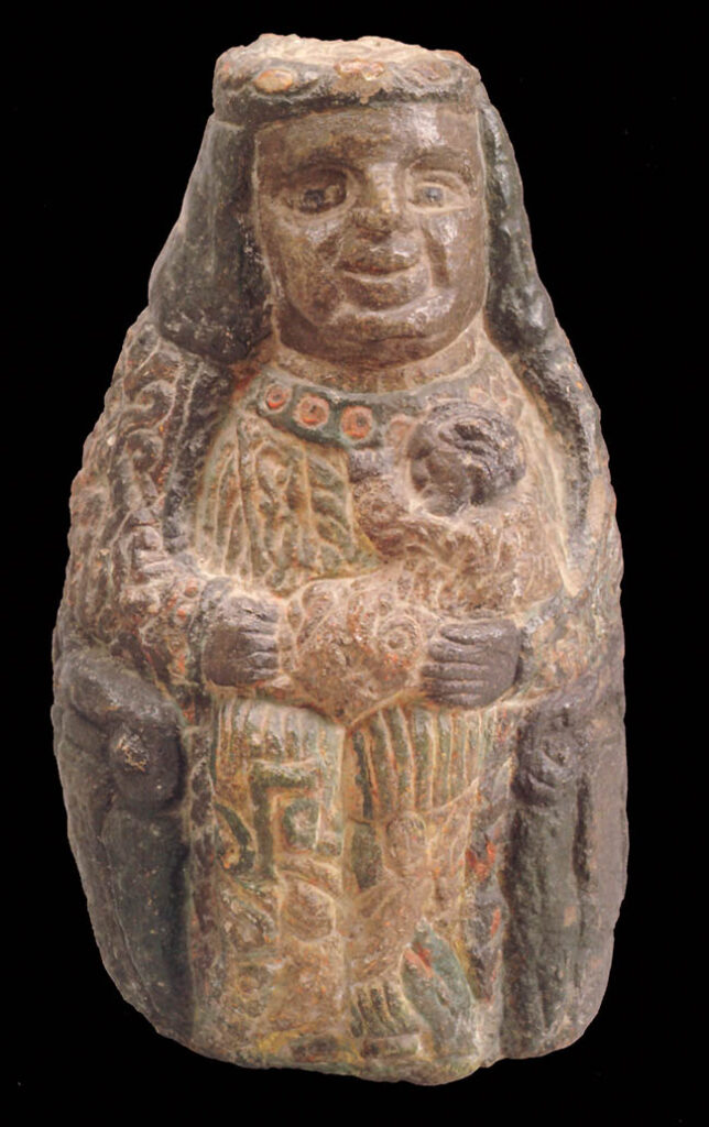 Anonimo indigeno, Vergine Maria o Serpente
